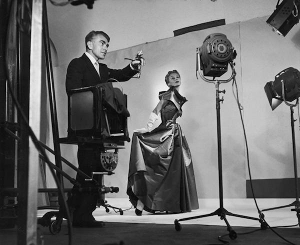 Horst durante una sessione in studio